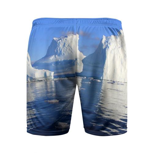 Мужские шорты 3D спортивные  Фото 02, Айсберг