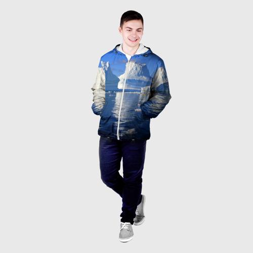 Мужская куртка 3D  Фото 03, Айсберг