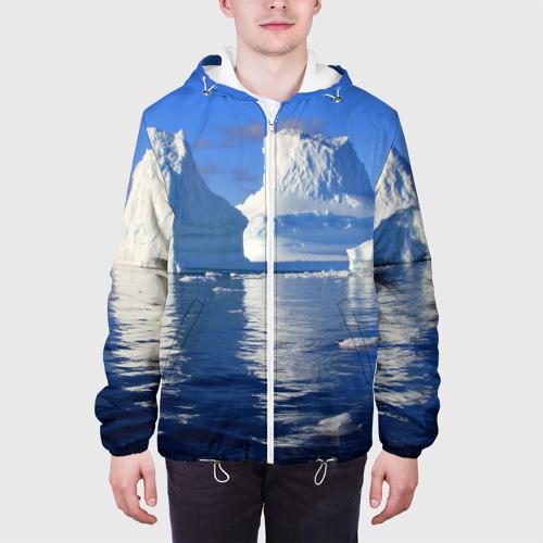 Мужская куртка 3D  Фото 04, Айсберг