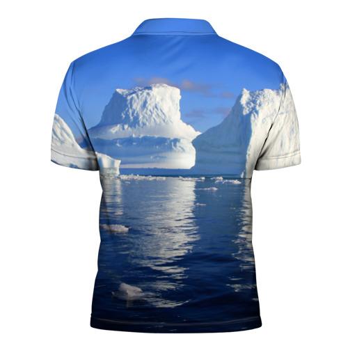 Мужская рубашка поло 3D  Фото 02, Айсберг