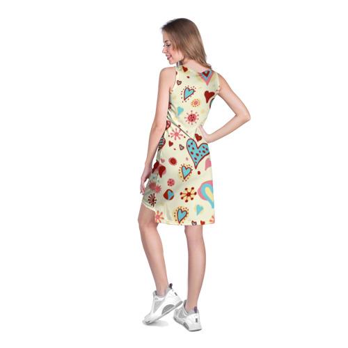 Платье-майка 3D  Фото 04, Сердечный орнамент 2