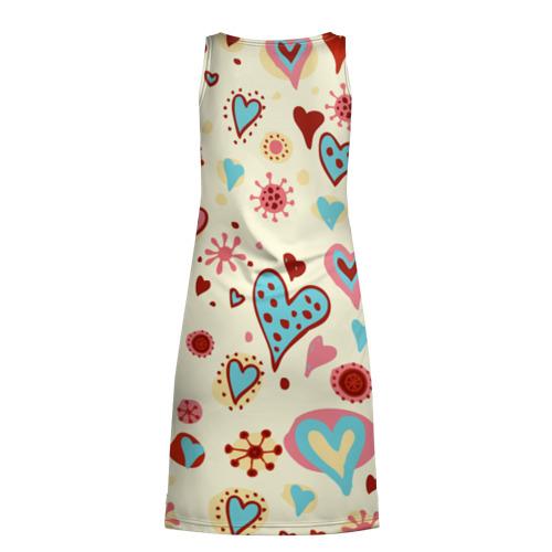 Платье-майка 3D  Фото 02, Сердечный орнамент 2