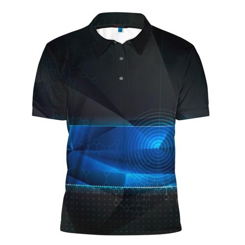 Мужская рубашка поло 3D  Фото 01, Нано