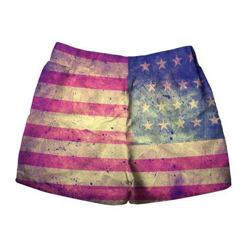 Женские шорты 3D  Фото 02, Америка