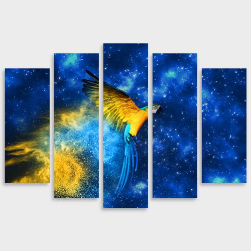 Модульная картина М20 Попугай