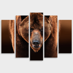 Модульная картина М20Медведь