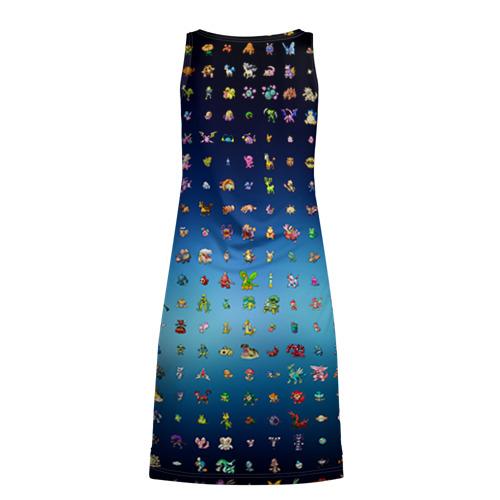 Платье-майка 3D  Фото 02, Покемон