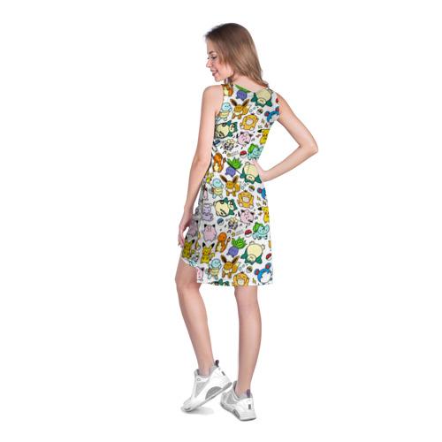 Платье-майка 3D  Фото 04, Покемон 1