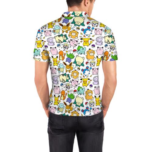 Мужская рубашка поло 3D  Фото 04, Покемон 1