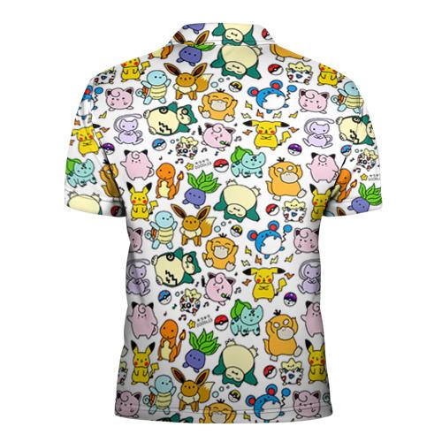 Мужская рубашка поло 3D  Фото 02, Покемон 1