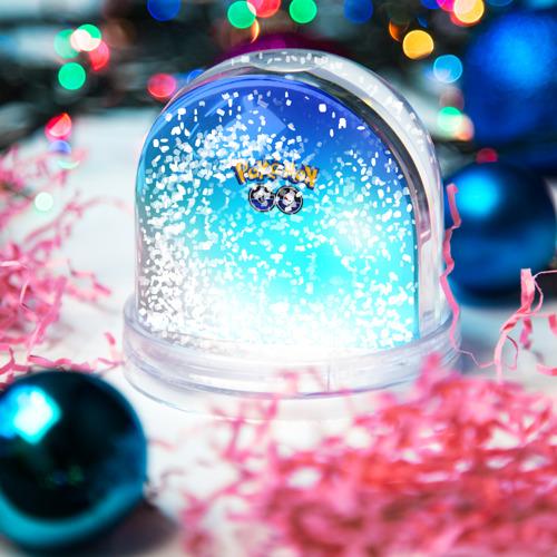 Водяной шар со снегом  Фото 04, Покемон 2