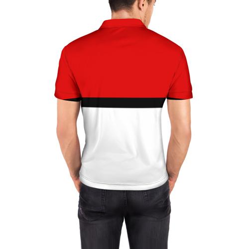 Мужская рубашка поло 3D  Фото 04, Покеболл 3