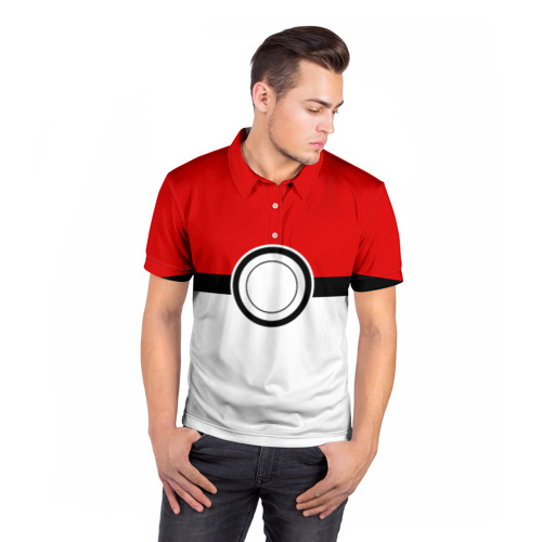 Мужская рубашка поло 3D  Фото 05, Покеболл 4