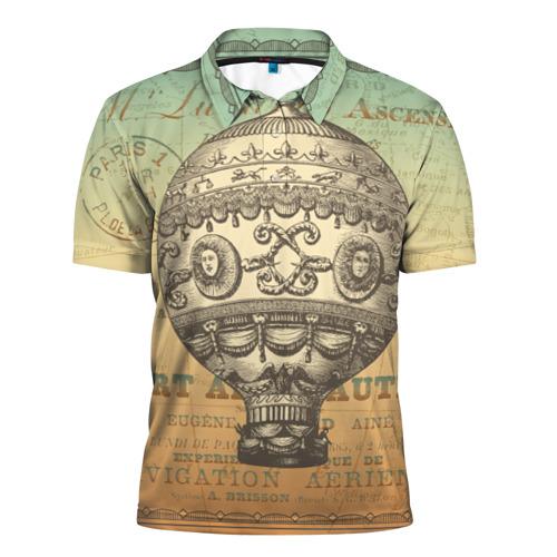 Мужская рубашка поло 3D  Фото 01, Путешествие