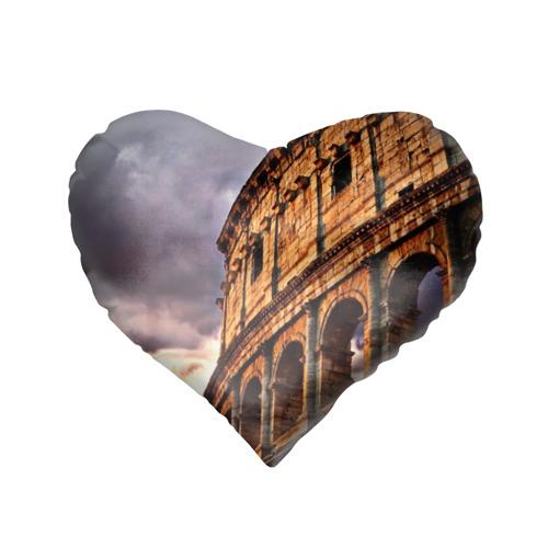 Подушка 3D сердце  Фото 02, Колизей