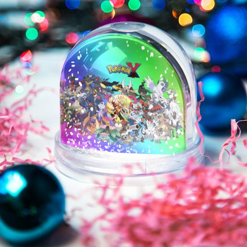 Водяной шар со снегом  Фото 03, Покемоны