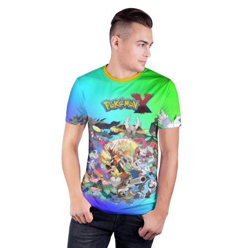 Мужская футболка 3D спортивная Покемоны Фото 01