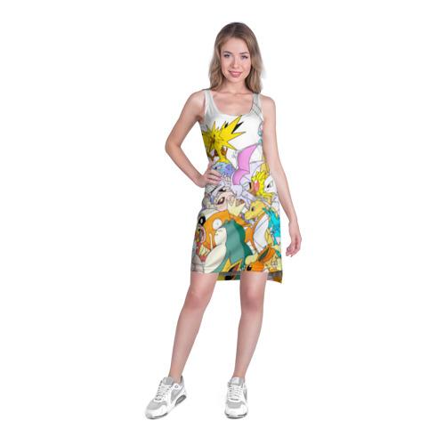 Платье-майка 3D  Фото 03, Покемоны