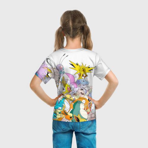 Детская футболка 3D  Фото 04, Покемоны