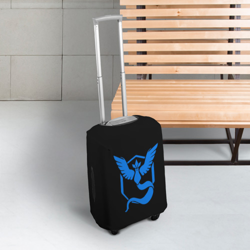 Чехол для чемодана 3D Pokemon Blue Team Фото 01