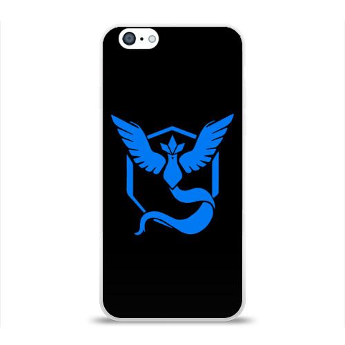 Чехол для Apple iPhone 6 силиконовый глянцевый Pokemon Blue Team Фото 01