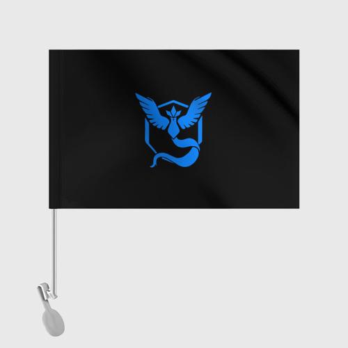 Флаг для автомобиля Pokemon Blue Team Фото 01