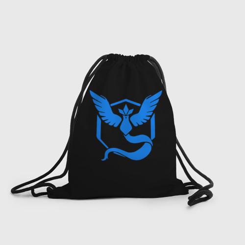 Рюкзак-мешок 3D Pokemon Blue Team Фото 01