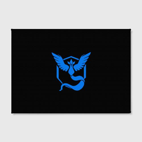 Холст прямоугольный Pokemon Blue Team Фото 01