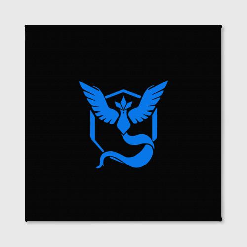 Холст квадратный Pokemon Blue Team Фото 01