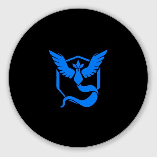 Коврик для мышки круглый Pokemon Blue Team Фото 01