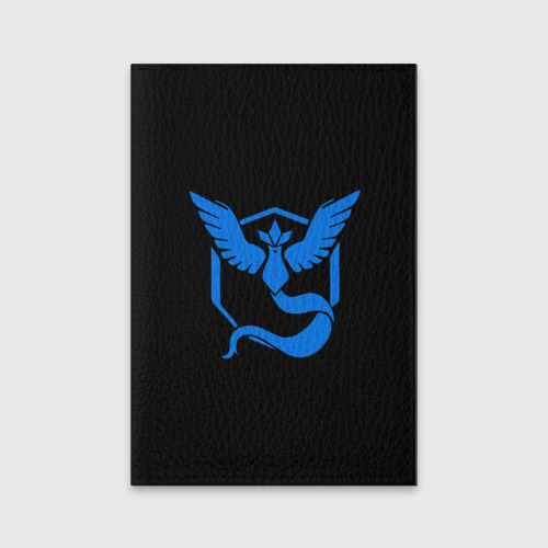 Обложка для паспорта матовая кожа Pokemon Blue Team Фото 01