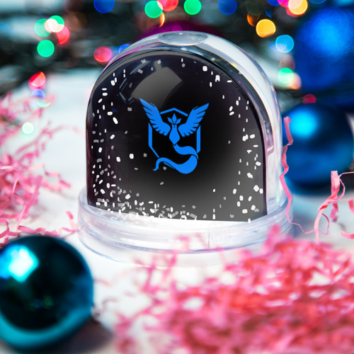 Водяной шар со снегом  Фото 03, Pokemon Blue Team