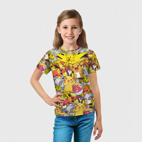 Детская футболка 3D Pokemon 5 Фото 01