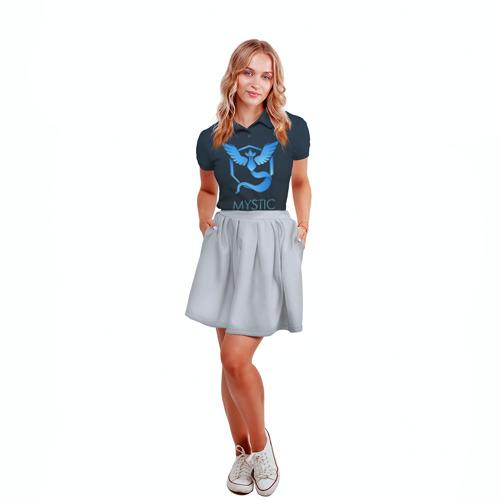 Женская рубашка поло 3D Pokemon 3 Фото 01