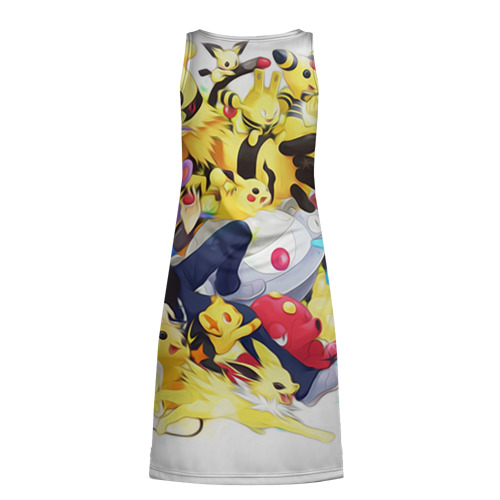 Платье-майка 3D  Фото 02, Pokemon 10