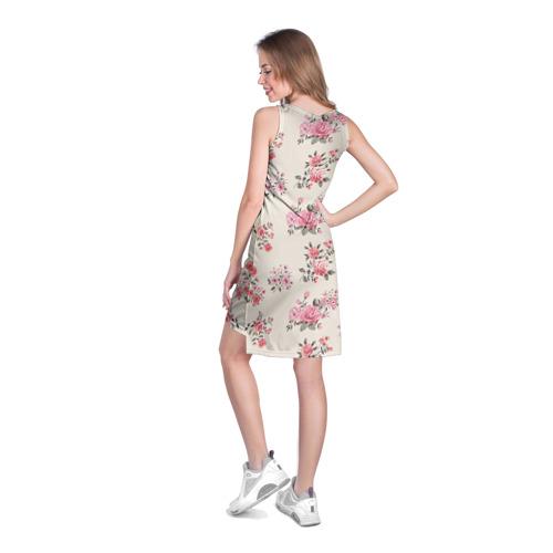 Платье-майка 3D  Фото 04, Цветы ретро 9
