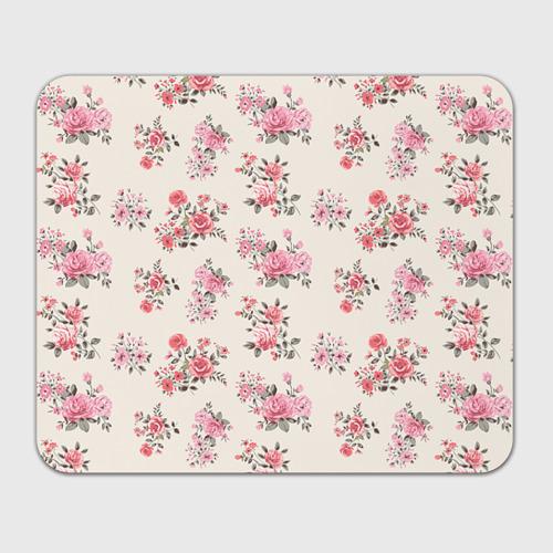 Коврик для мышки прямоугольный  Фото 01, Цветы ретро 9