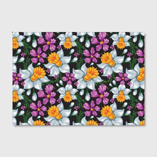 Холст прямоугольный  Фото 02, Цветы ретро 8