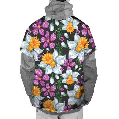 Накидка на куртку 3D Цветы ретро 8 Фото 01