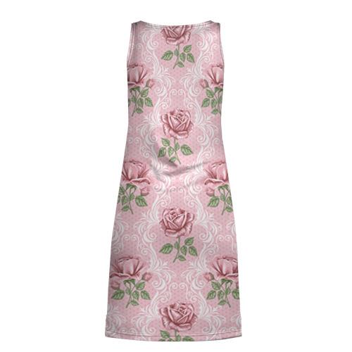 Платье-майка 3D  Фото 02, Цветы ретро 7