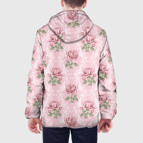 Мужская куртка 3D  Фото 05, Цветы ретро 7