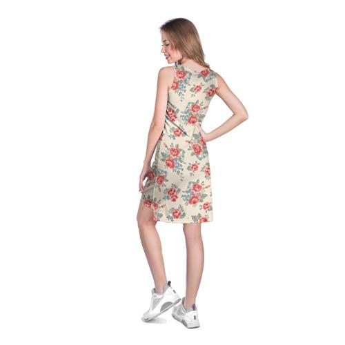 Платье-майка 3D  Фото 04, Цветы ретро 6