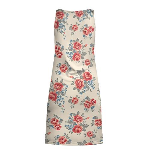 Платье-майка 3D  Фото 02, Цветы ретро 6