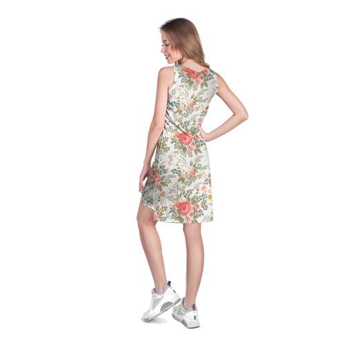 Платье-майка 3D  Фото 04, Цветы ретро 3