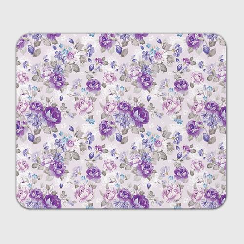 Коврик для мышки прямоугольный  Фото 01, Цветы ретро 2