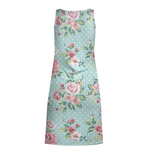 Платье-майка 3D Цветы ретро 1 Фото 01