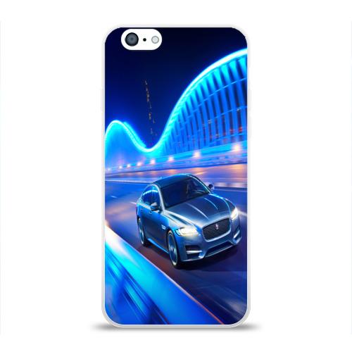 Чехол для Apple iPhone 6 силиконовый глянцевый  Фото 01, Jaguar