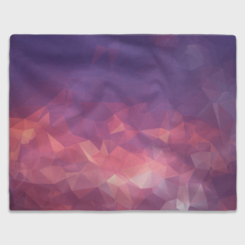 Плед 3D  Фото 03, Triangulates