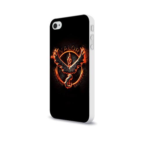 Чехол для Apple iPhone 4/4S soft-touch  Фото 03, Pokemon Go Red Team