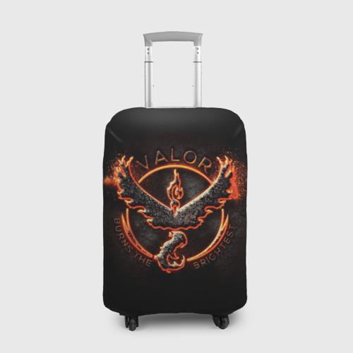 Чехол для чемодана 3D  Фото 01, Pokemon Go Red Team